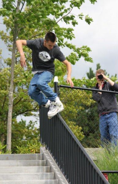 Topsoul on down rail
