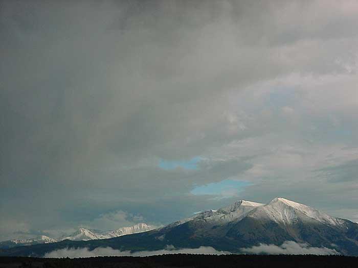 First Snowfall on Sopris range