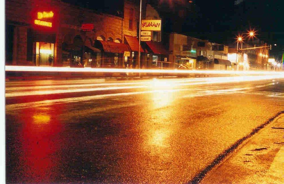 Monte street illuminated