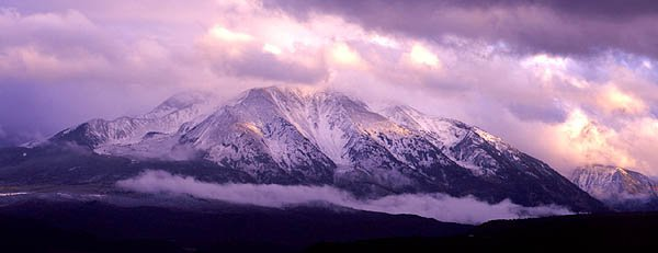 A really cool pic of Mount Sopris
