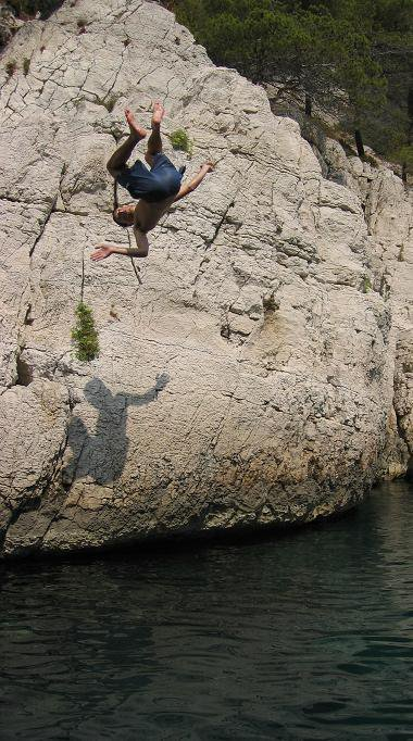Front flip in South France (Marseille)