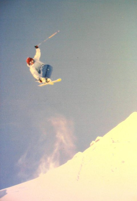 high above the hip