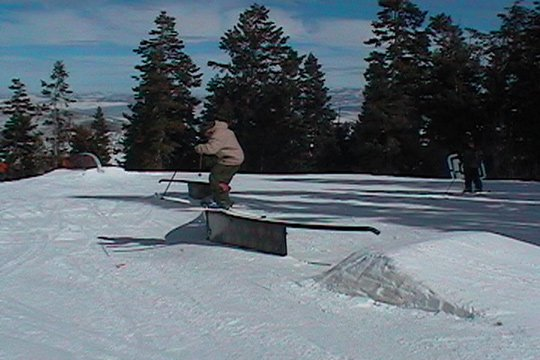 Middle of 42 Foot S Rail