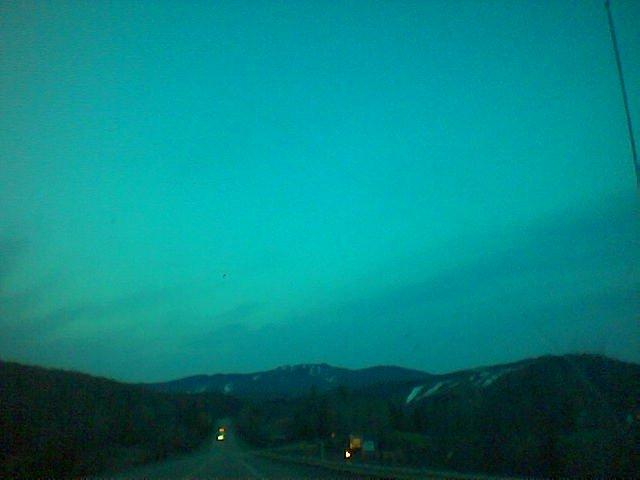 Tremblant and Gray Rocks at dusk