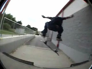 frontside flip drop