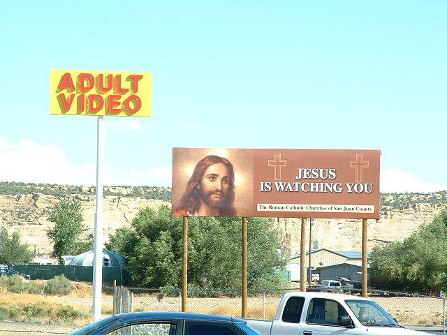 Me and my brother were driving home from Moab, when we caught sight of this roadside delight.