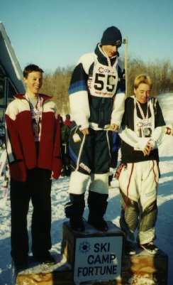 old aerials photo from 1999, jordon monk is 1st and jon is second place