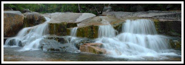 Small Falls At Sawyer River