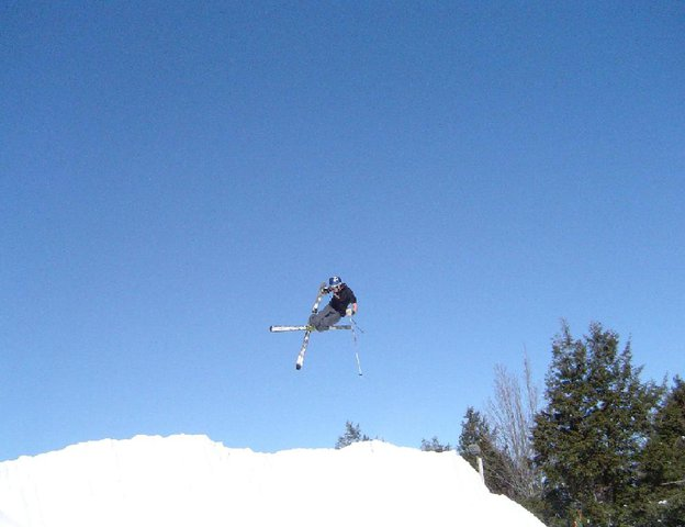 TailGrab In The Quarter Pipe