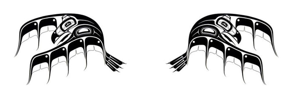 Haida Raven Tattoo im getting