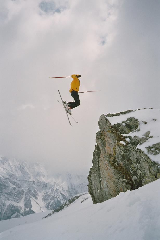360 Backscratcher from a 15ft Rock