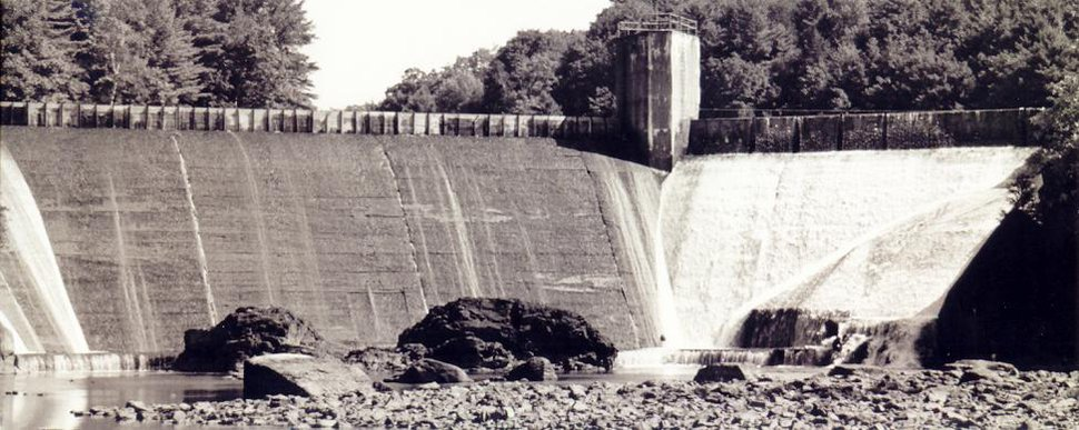 cool old dam
