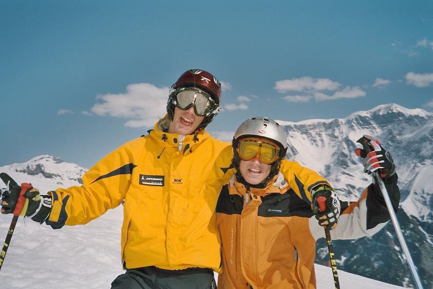 Skiing is fun