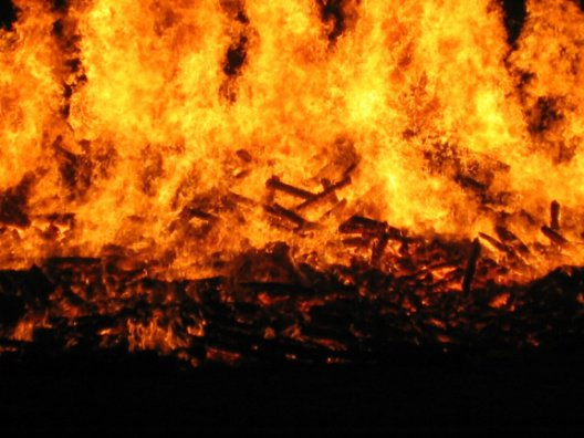 schools bonfire