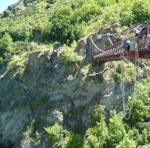 bungy off kawarau bridge