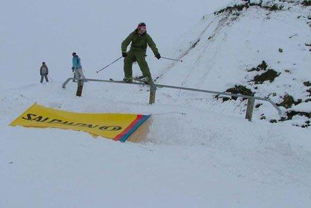 austrian open straight rail