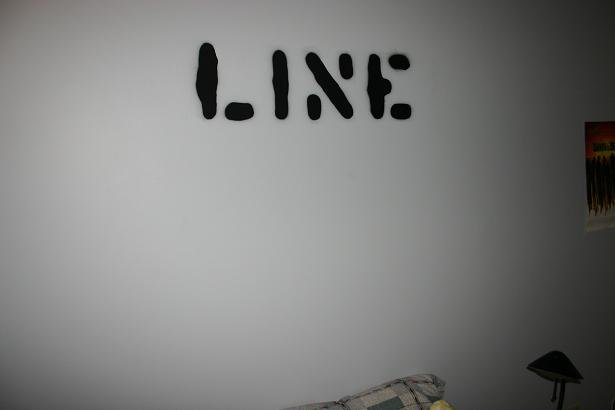 Line stencil 2
