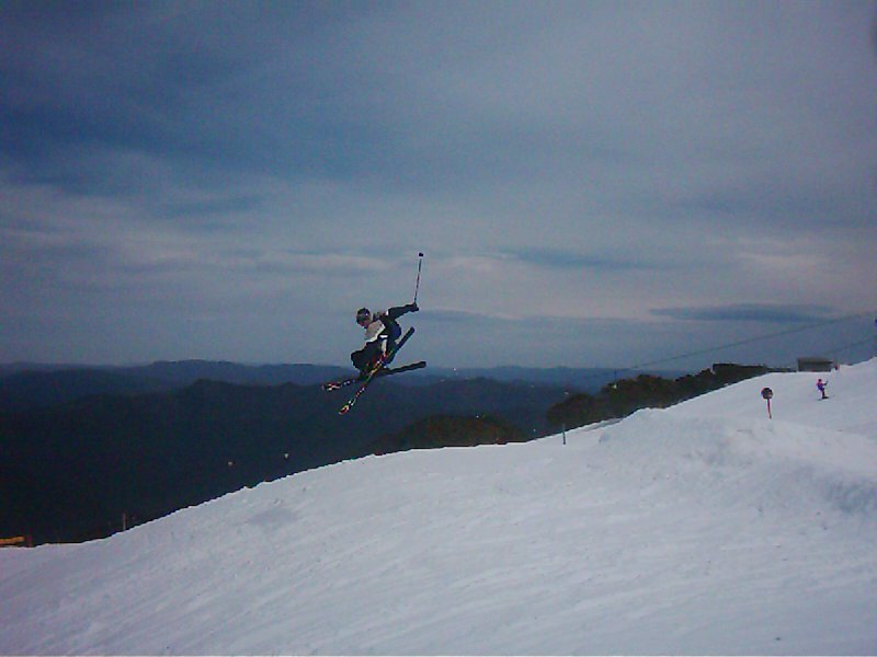 Terrain Park at Mt Buller