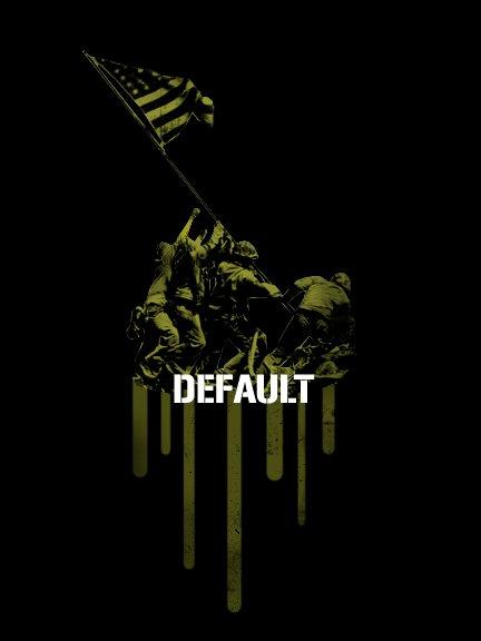 Default flag graphic