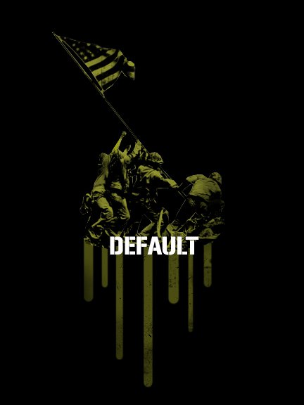 Default flag graphic