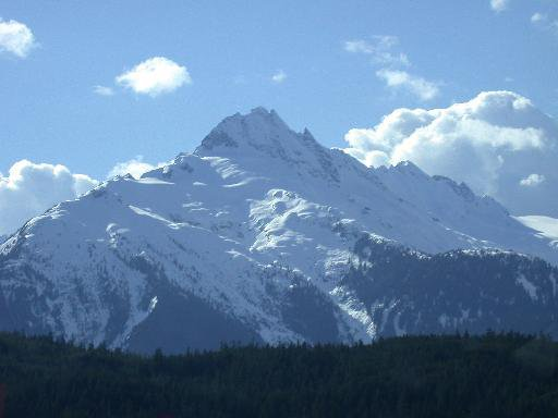 on the way to Whistler