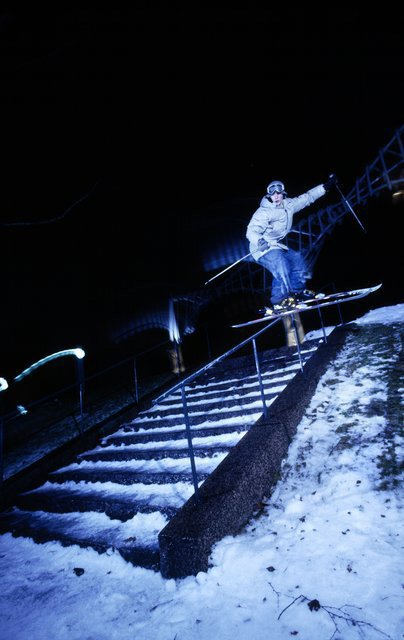 well... rail slide :)