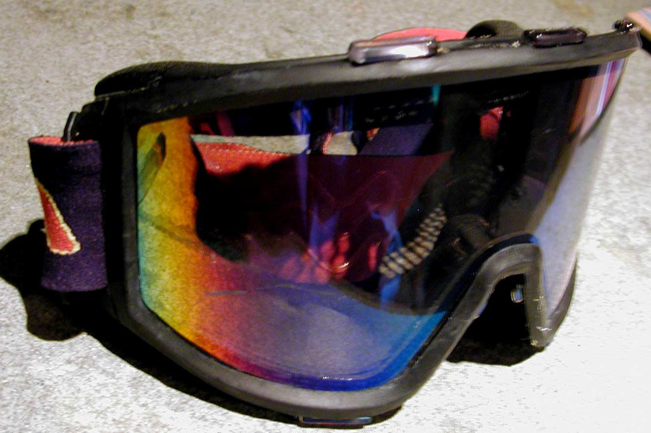 paintball goggles for skiing