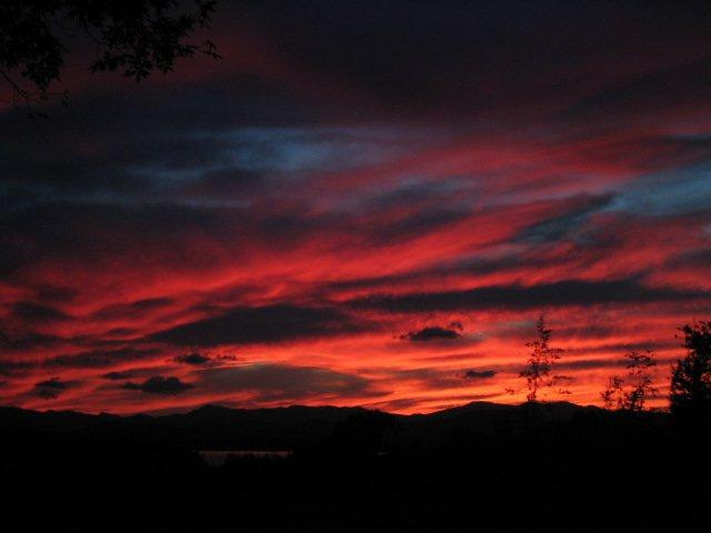 sunset on the daks