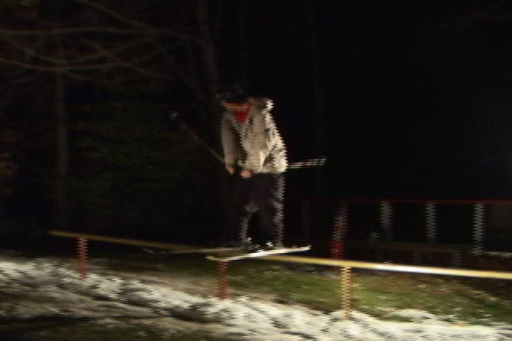 blurry steeze on new rail