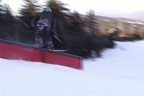 Telemark Down Rail