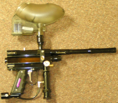 sexy paintball gun