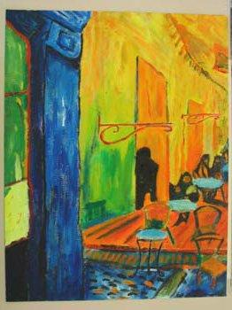 Art Class acrylic painting