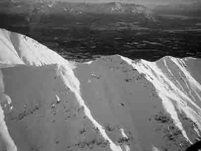 Flying last winter over Hatcher's in Alaska...hellll yes.