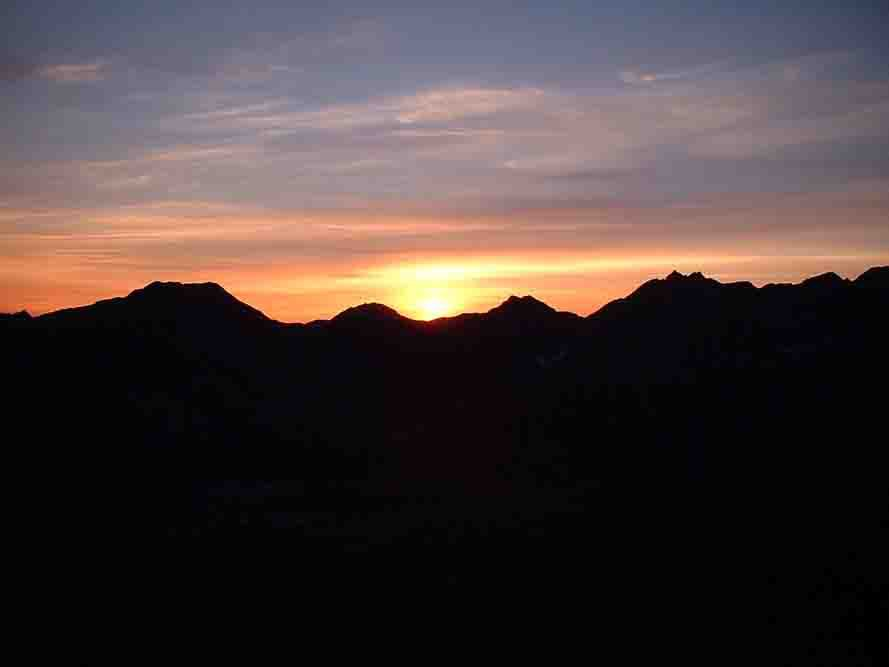 Went hiking in Hatcher's a couple of summers ago....nasty sunset pic.