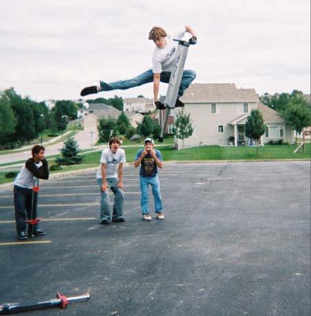 6 Foot High Pogo Jump