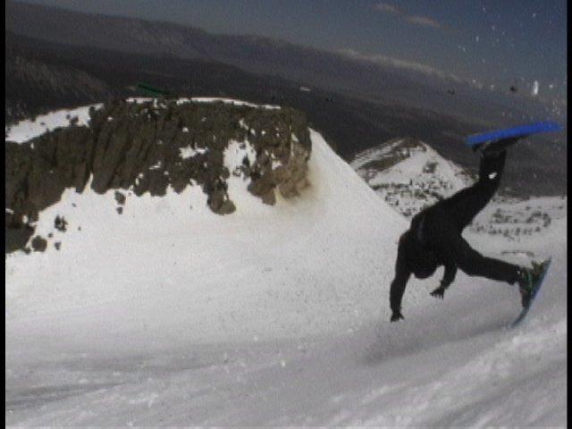 eXtreme big mtn snowlerblader action