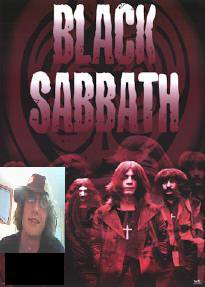 I'm the new guitarist for black sabbath we just got back togehter here is a real photographers photo