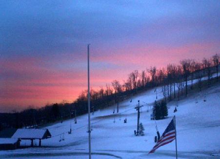 springs pre-season sunset