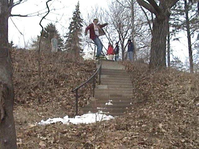 26 step c hand rail