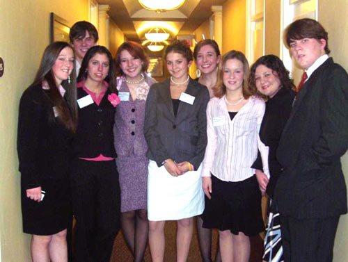 Us before Harvard Model UN Opening Ceremonies