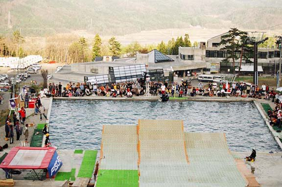 japanese freeride water ramps are popping up everywhere