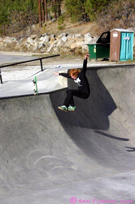 Lost Board in midair :)