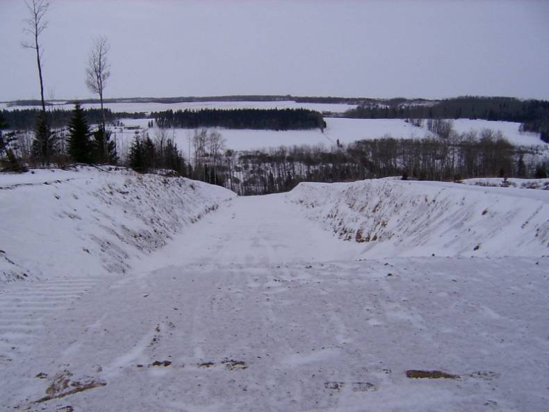 new superpipe at Tawatinaw