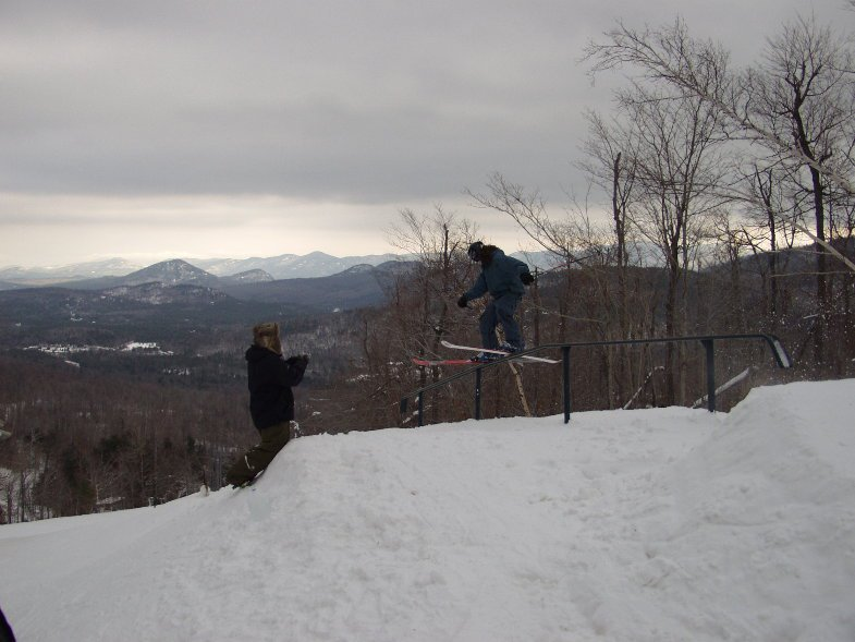 Whiteface Rail Jam 3