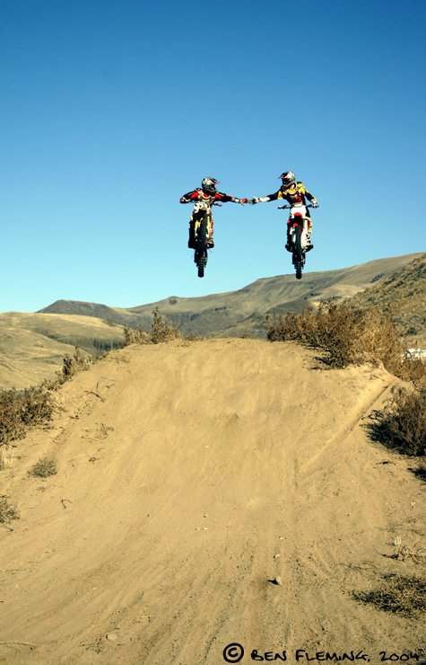 Moto X: High Five in Mid-Air