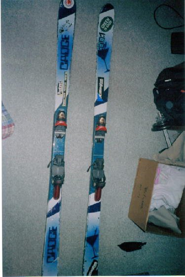 my ill painted skis
