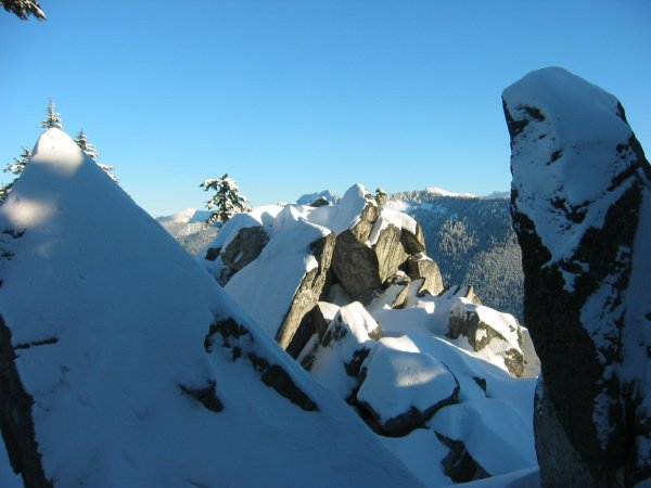 Summit of Heather Ridge