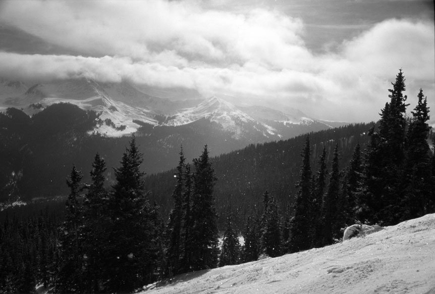 took this on the back side of copper mountain