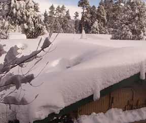 tahoe house roof w/ 4'