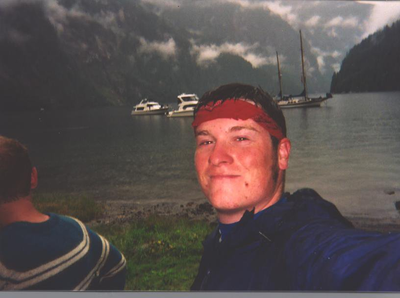 Myself, after completing the most challenging thing in my life, a 6 day backpacking trip in BC